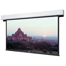 Advantage Deluxe Electrol High Contrast Matte White Electric Projection Screen