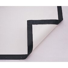 "Fast Fold Deluxe 3D Virtual Black Replacement Surface - 56"" x 96"" 16:10 Wide Format"
