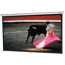 "Model B with CSR High Contrast Matte White 94"" Manual Projection Screen"