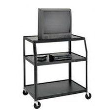Pixmate Height Adjustable Shelf Television Cart
