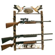 <strong>Rush Creek</strong> Gun Rack - Duck Motif