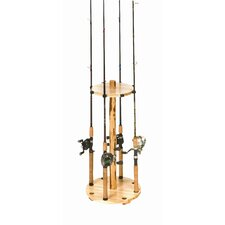 <strong>Rush Creek</strong> Round 8 Fishing Rod Rack