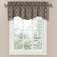 "Lovely Lattice 50"" Curtain Valance"
