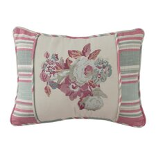 Spring Bling Embroidered Accent Pillow