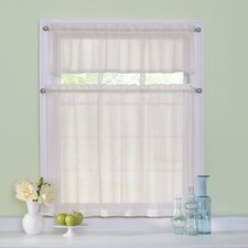 Arm and Hammer Curtain Fresh Odor-Neutralizing Valance and Tier Set
