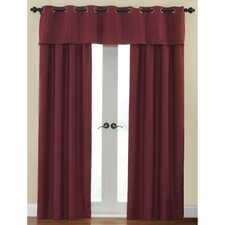 Cirrus Window Treatment Collection in Garnet