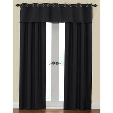 Cirrus Window Treatment Collection in Onyx