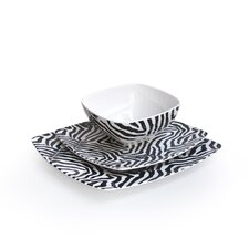 Wildlife 12 Piece Dinnerware Set