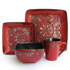 <strong>Waverly</strong> Marquee 16 Piece Dinnerware Set