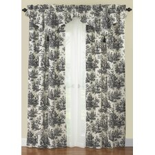 Country Life Rod Pocket Curtain Single Panel