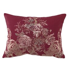Ballad Bouquet Embroidered Accent Pillow