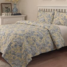 Picture Perfect 3 Piece Quilt Set