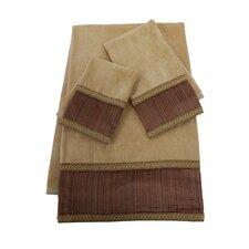 Juliet  Decorative 3 Piece Towel Set