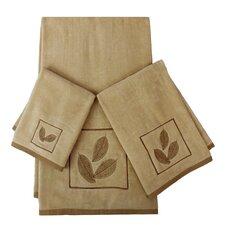 Rindge Decorative 3 Piece Towel Set