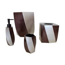 Mirage 4 Piece Bathroom Accessory Set