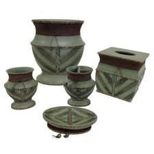 Sedona 5 Piece Bathroom Accessory Set