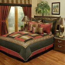 Jungle Passage Cheetah 8 Piece Comforter Set