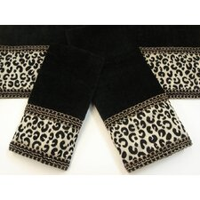 Cheetah Decorative 3 Piece Towel Set