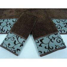 Becall Decorative 3 Piece Towel Set