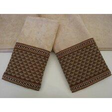 Amore Decorative 3 Piece Towel Set