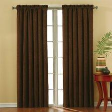 Plush Solid Curtain Panel