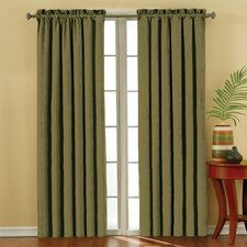 <strong>Eclipse Curtains</strong> Plush Solid Curtain Single Panel