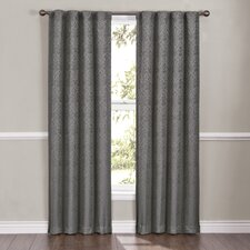 Carlita Rod Pocket Window Curtain Single Panel