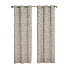 Meridian Grommet Window Curtain Panel