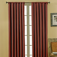 Theodore  Rod Pocket Window Curtain Single Panel