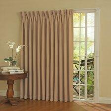 Patio Door Rod Pocket Window Curtain Panel