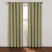 <strong>Eclipse Curtains</strong> Twist Rod Pocket Window Curtain Single Panel
