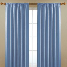 <strong>Eclipse Curtains</strong> Alfred  Rod Pocket Window Curtain Single Panel