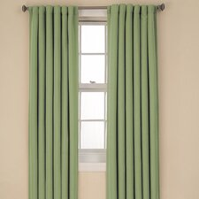 <strong>Eclipse Curtains</strong> Tavern BackTab  Rod Pocket Window Curtain Single Panel