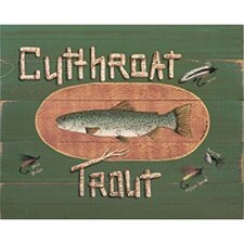 <strong>Art 4 Kids</strong> Cutthroat Trout Wall Art