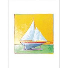 Sailboat II Canvas Art