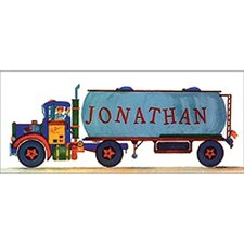 <strong>Art 4 Kids</strong> Tank Truck Wall Art