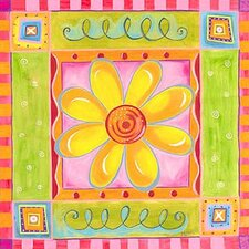 Electric Daisy Canvas Art