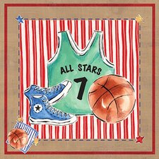 Basketball Jersey Wall Art