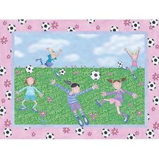 <strong>Art 4 Kids</strong> Soccer Friends Wall Art