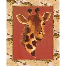 Out of Africa Giraffe Wall Art