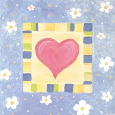 Spring Heart II Canvas Art