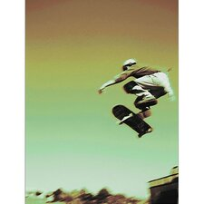 Skate Boarder III Canvas Art