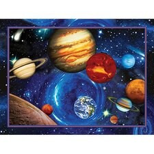 Planets in Orbit Wall Art