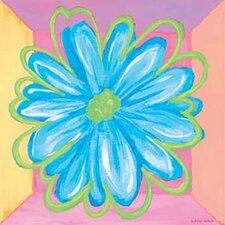 Pastel Daisy Square I Canvas Art