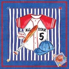 Jean Baseball Canvas Art