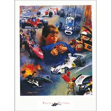 <strong>Art 4 Kids</strong> Racing Dreams Wall Art
