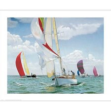 The Return Sailboat Canvas Art