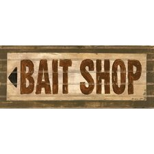 <strong>Art 4 Kids</strong> Bait Shop Wall Art