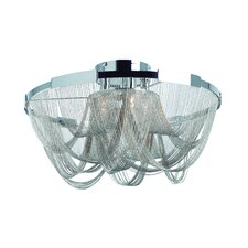 Amaluna 3 Light Flush Mount