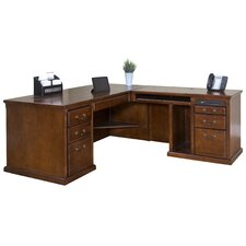Huntington Oxford Right L-Shaped Desk